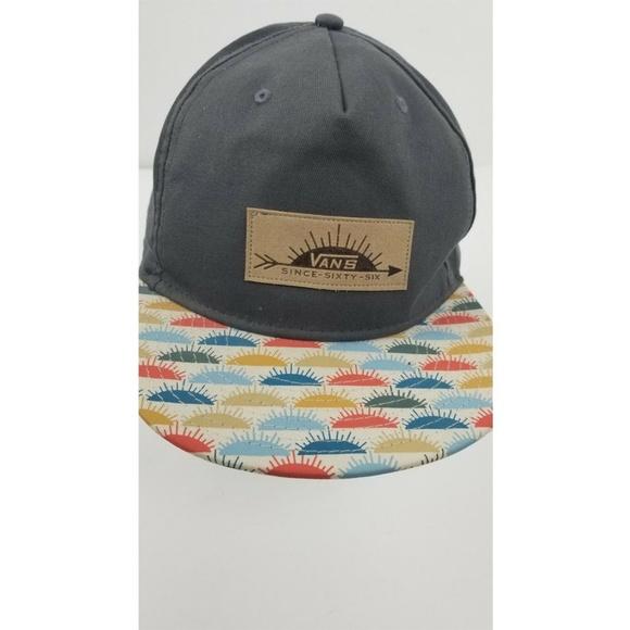 caef9a8e VANS Rowley Snapback HAT Gray since sixty six